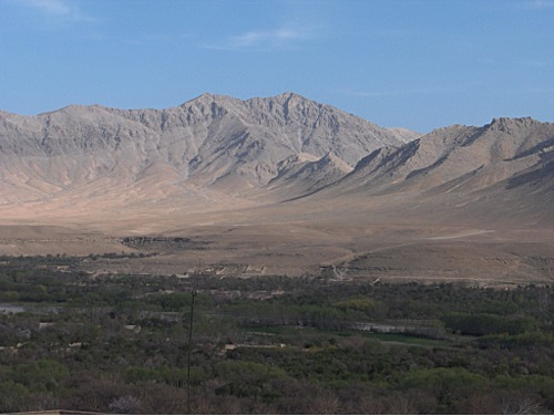 View of Chora District, Uruzgan