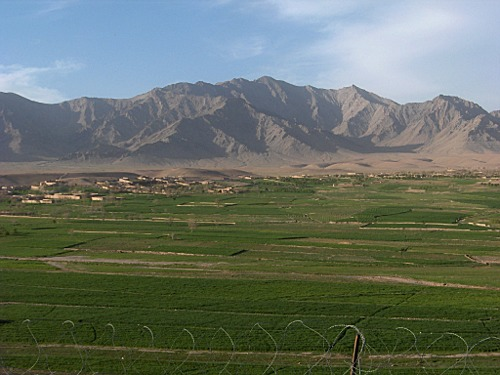 Valley in Tabar, Uruzgan