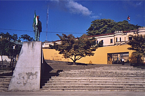 Presidential palace in San José