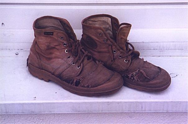 Stevig in de schoenen staan