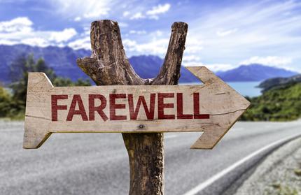 Afscheid nemen op reis