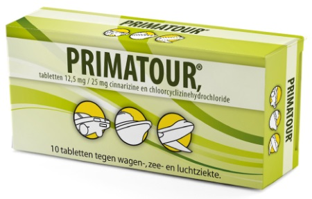 Primatour tegen reisziekte