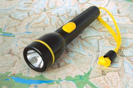 Zaklantaarn op reis