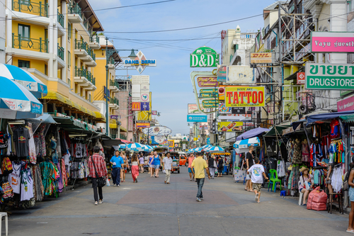 Overnachten in Banglamphu, Bangkok