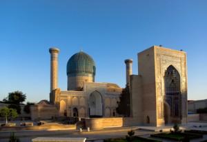 Mausoleum in Samarkand