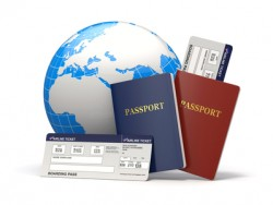 Wereldreis en vliegticket