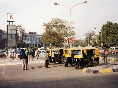 Riksja's in India