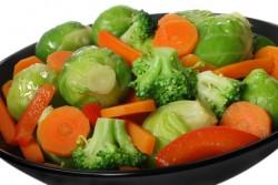 Gekookte groente