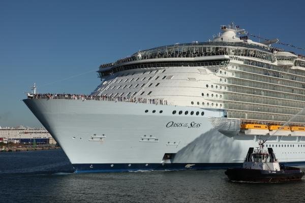 Oasis of the Seas, nu het grootste cruiseschip ter wereld