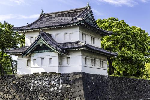 Keizerlijk paleis in Tokyo