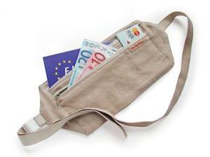 Moneybelt op reis