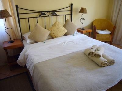 Hotelkamer in Zuid-Afrika