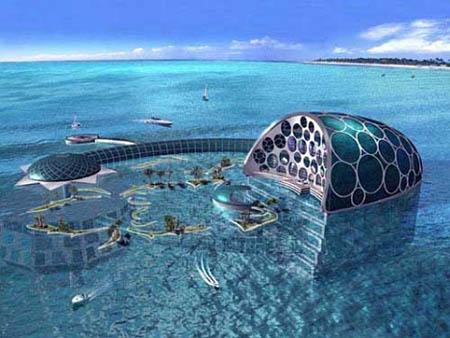 Onderwaterhotel Dubai