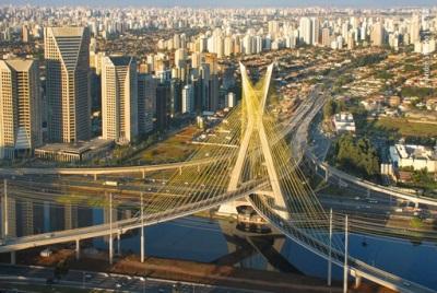 Uitzicht op Sao Paulo