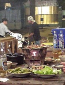 BBQ in Ho Chi Minh, Vietnam
