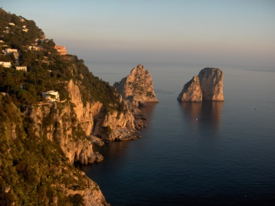 Het eiland Capri, Italië