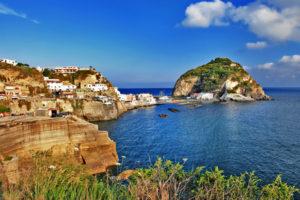 Het eiland Ischia, Italië