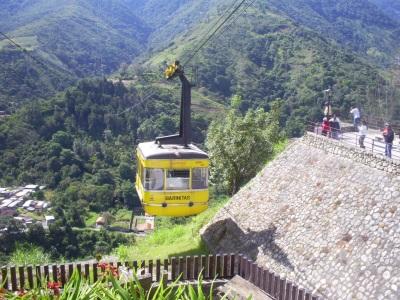 Kabelbaan in Mérida, Venezuela