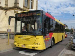 TEC Busmaatschappij in Wallonië