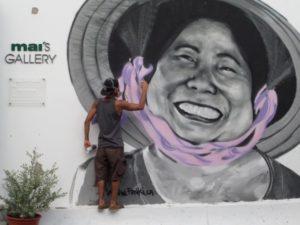 Kunst in Ho Chi Minh, Vietnam