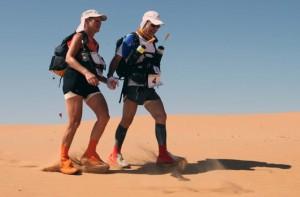 Desert marathon in Oman