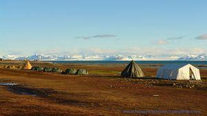 Kamperen op Spitsbergen