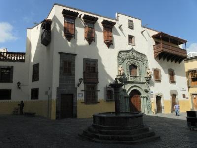 Huis van Columbus op Gran Canaria