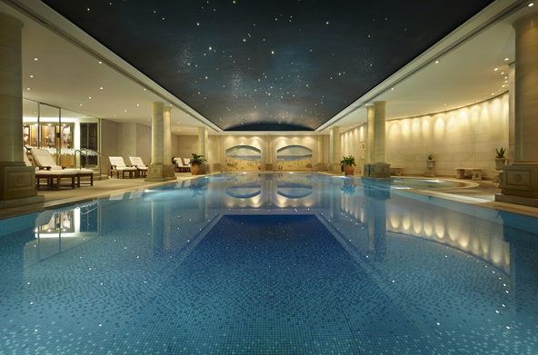 Zwembad The Langham Hotel, Sydney, Australië