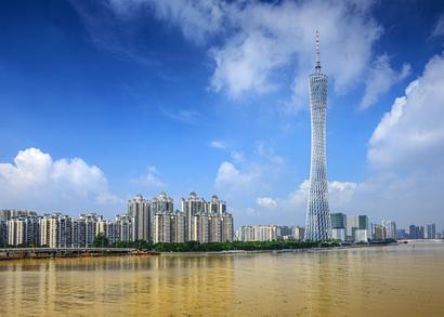 Canton Tower in Guangzhou
