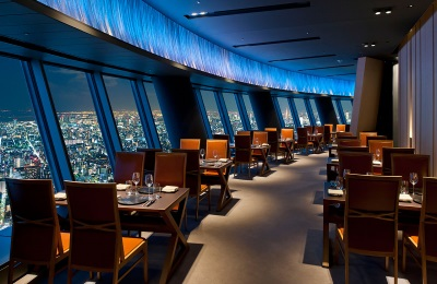 Restaurant in Tokyo Skytrees
