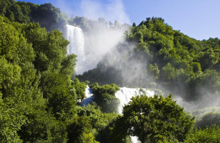 Cascata delle Marmore waterval in Italië