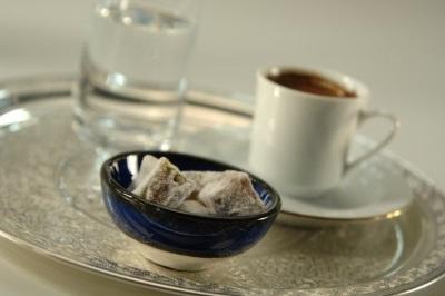 Koffie bij Turkish Airlines