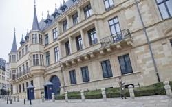 Groothertogelijk Paleis in Luxemburg Stad