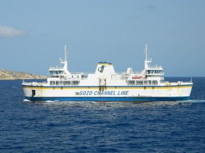 Veerboot van Malta naar Gozo