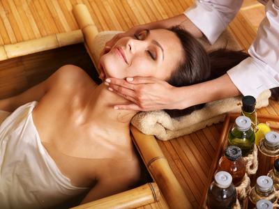 Trend: massage bij het inchecken
