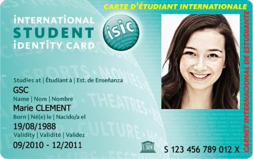 Internationale studentenkaart