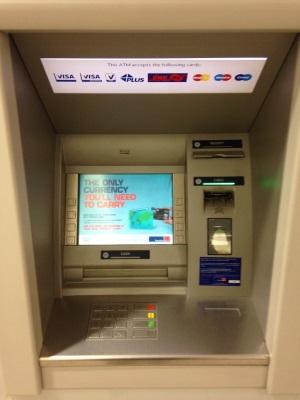 Geldautomaat geeft geen geld