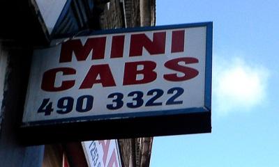 Minicabs in Londen