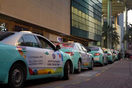 Reizen met de taxi in Qatar