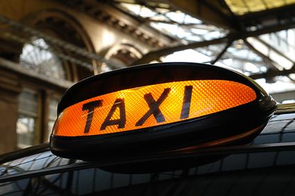 Apps om een taxi te delen