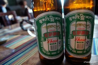 Lhasa Beer in Tibet, China