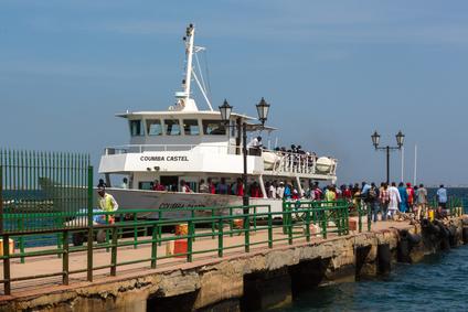 Veerboot van Dakar naar Gorée