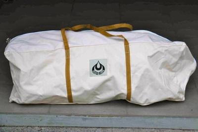 Lotus Tent in een tas