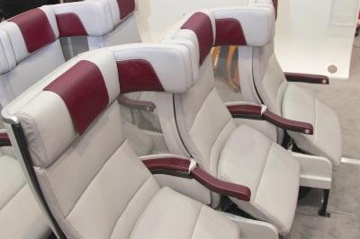 Cozy Suite in het vliegtuig
