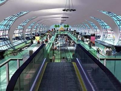 Luchthaven van Bangkok, Thailand