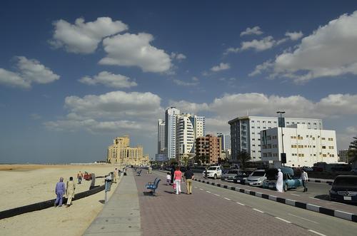 Corniche in Ajman