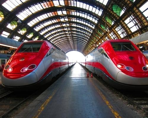 Frecce hogesnelheidstrein in Italië