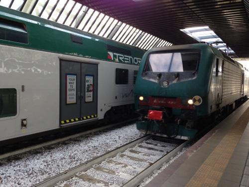 InterCity trein in Italië