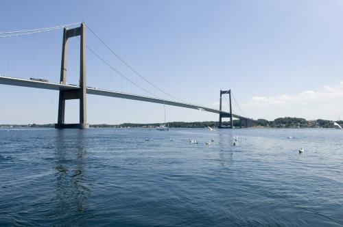 Kleine Beltbrug in Denemarken