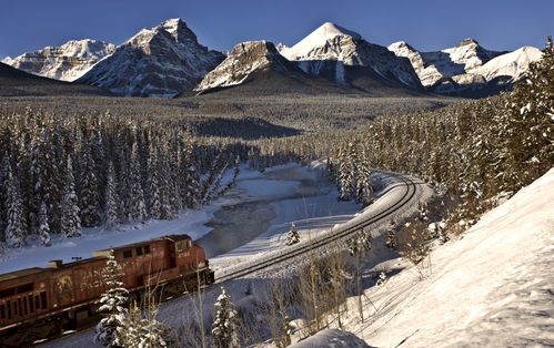 Reizen met de trein in Canada